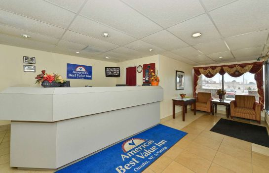 Hol hotelowy Americas Best Value Inn Omaha