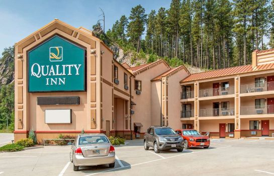 Exterior view Quality Inn Keystone