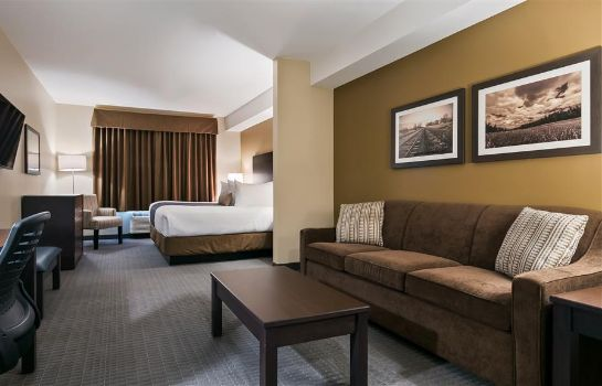 Room BEST WESTERN PLUS LACOMBE INN