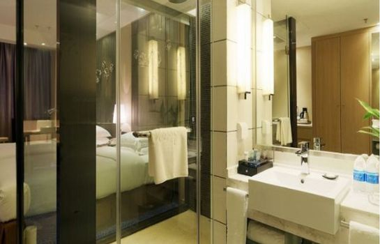 Bagno in camera Rising Hotel Chongqing
