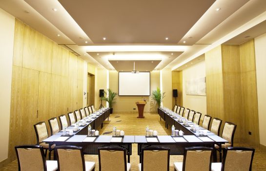 Sala de reuniones Days Hotel and Suites Liangping
