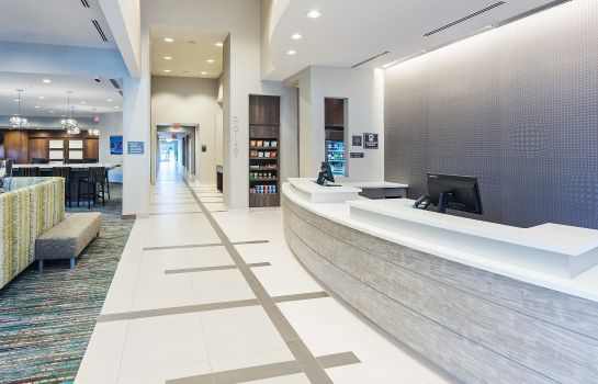 Vestíbulo del hotel Residence Inn Houston West/Beltway 8 at Clay Road