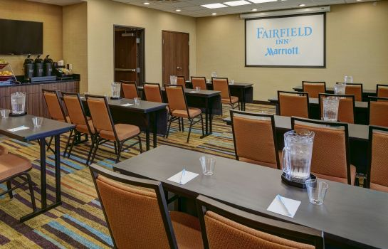 Sala de reuniones Fairfield Inn & Suites Detroit Troy