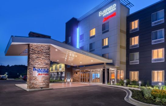 Vista esterna Fairfield Inn & Suites Huntington