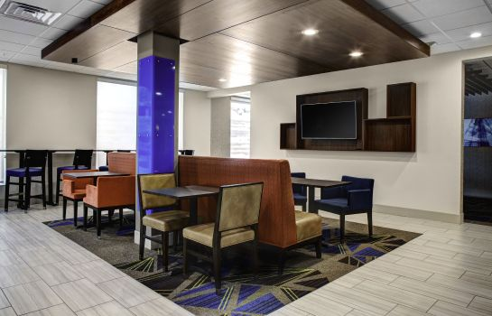 Hotelhalle Holiday Inn Express & Suites COLDWATER