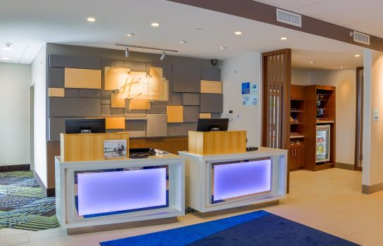Hotelhalle Holiday Inn Express & Suites DETROIT NORTHWEST - LIVONIA