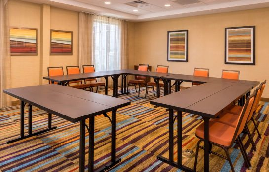 Conference room Fairfield Inn & Suites Huntington