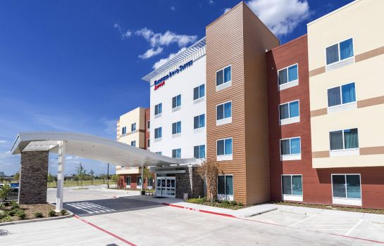 Vista exterior Fairfield Inn & Suites Dallas Waxahachie