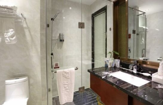 Bagno in camera Wangfu Changcheng Hotel