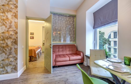 Single room (standard) Deluxe Apartments at Nevsky 22
