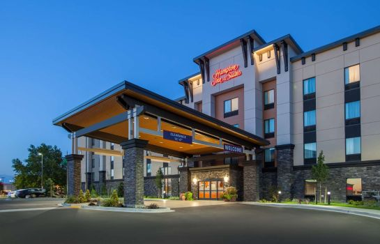 Vista esterna Hampton Inn - Suites Pasco-Tri-Cities WA