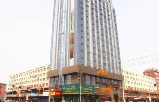 Vista exterior GreenTree Inn Tongliao Railway Station Jianguo Road Express Hotel(Domestic only)
