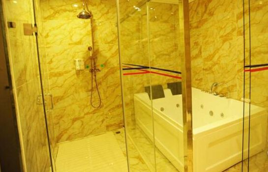 Bagno in camera Lanhai International Hotel
