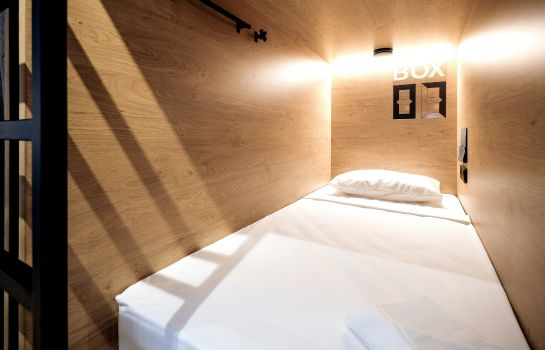 Chambre individuelle (standard) InBox Capsule Hotel