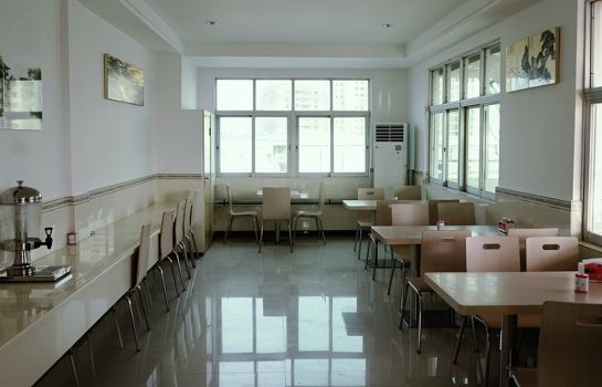 Restaurante GreenTree Inn HePu Huanzhu(S)Rd. (Domestic only)