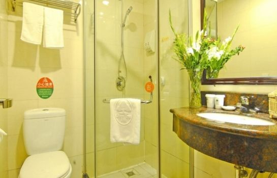 Badezimmer GreenTree Inn NanXiShan Park (Domestic only)