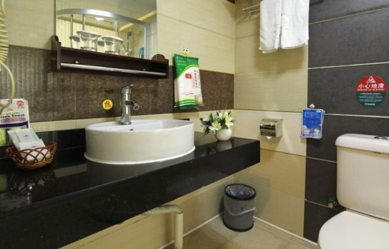 Bagno in camera GreenTree Inn JinShan Square (Domestic only)