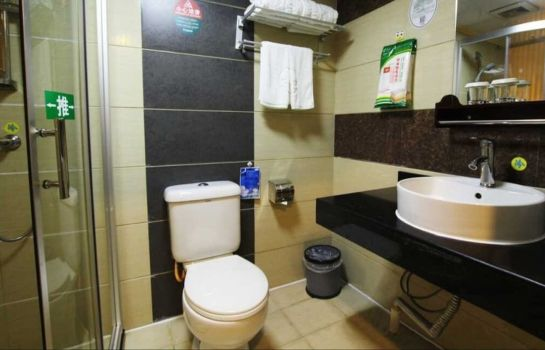 Badezimmer GreenTree Inn JinShan Square (Domestic only)