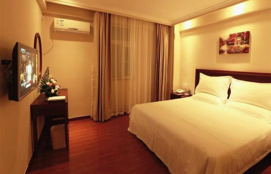 Chambre individuelle (standard) GreenTree Inn Chunyuan Seafood Square (Domestic only)