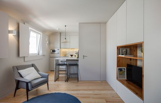 Doppelzimmer Standard Baumhaus Serviced Apartments
