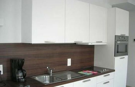 Kitchen in room Place2stay in Ghent