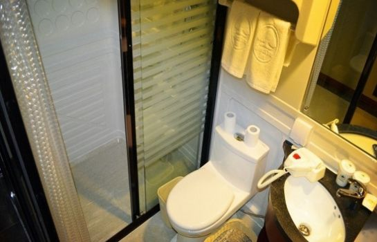 Badezimmer GreenTree Inn Gongjiawan Yangjiaqiao (Domestic only)