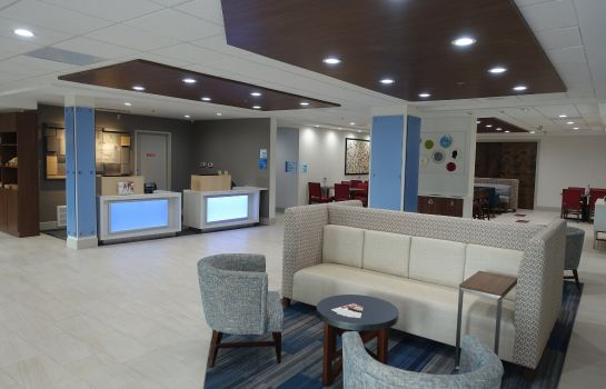 Hotelhalle Holiday Inn Express & Suites BRENTWOOD