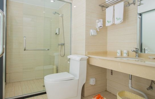 Cuarto de baño Vatica ShaPingBa District University Town Yide Rd. Hotel (Domestic only)