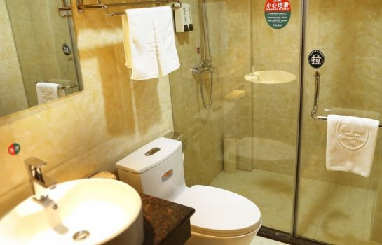 Bagno in camera GreenTree Inn HanZhong Railway Station BeiYiHuan Road Express Hotel(Domestic only)