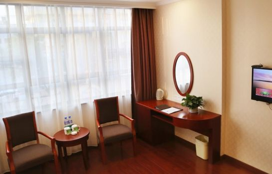 Vista all'interno GreenTree Inn HanZhong Railway Station BeiYiHuan Road Express Hotel(Domestic only)