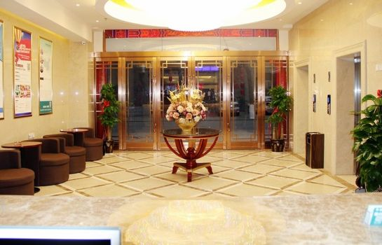 Vestíbulo del hotel GreenTree Inn Xiyang Lake Beiping Street Express Hotel (Domestic only)