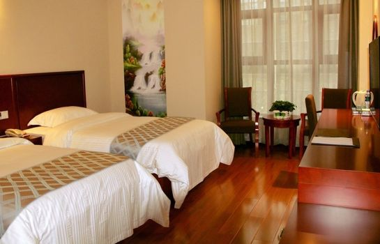 Habitación doble (estándar) GreenTree Inn Xiyang Lake Beiping Street Express Hotel (Domestic only)