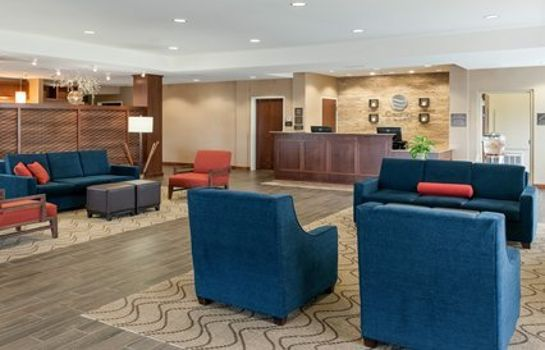 Hotelhalle Comfort Inn & Suites West - Medical Center