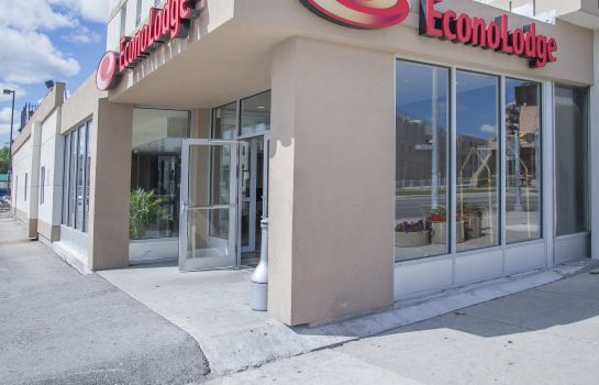 Buitenaanzicht Econo Lodge Winnipeg