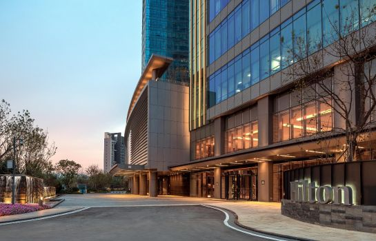 Vista exterior Hilton Jinan South Hotel - Residences