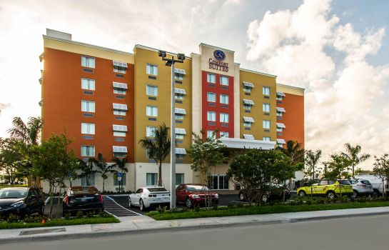 Vista esterna Comfort Suites Fort Lauderdale Airport South & Cruise Port