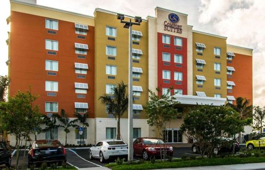 Buitenaanzicht Comfort Suites Fort Lauderdale Airport South & Cruise Port