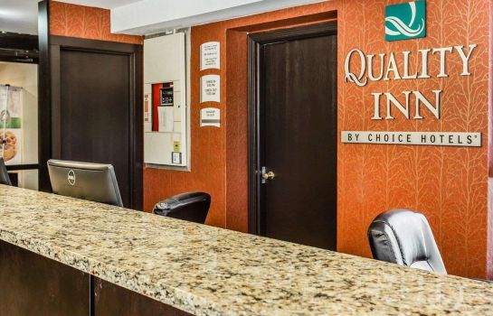 Lobby Quality Inn & Suites Columbia