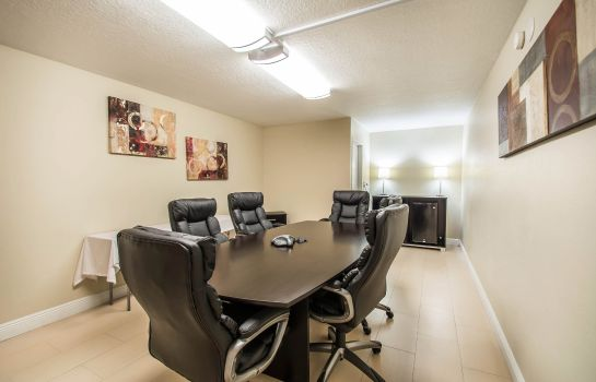 Conference room Quality Inn Maingate South