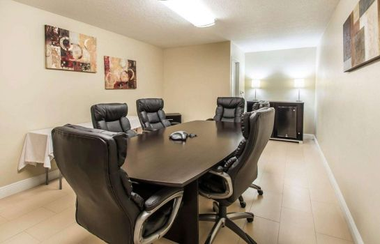 Conference room Quality Inn Davenport - Maingate South
