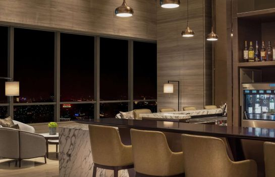 Bar del hotel Hilton Jinan South Hotel - Residences