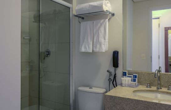 Cuarto de baño Blue Tree Towers Valinhos