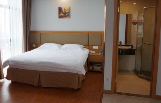 Pokój jednoosobowy (standard) GreenTree Inn HuangBaiShan Road Times Shopping Mall Express Hotel(Domestic only)