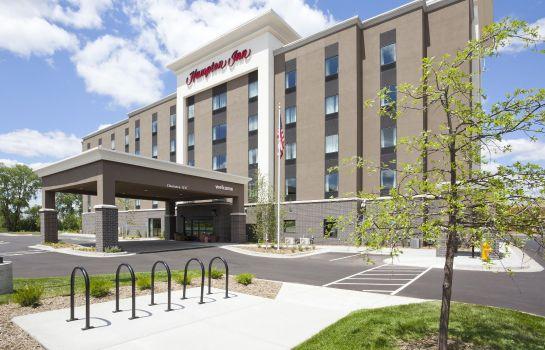 Vista exterior Hampton Inn Minneapolis/Roseville MN