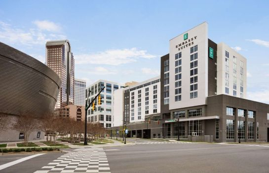 Buitenaanzicht Embassy Suites by Hilton Charlotte Uptown