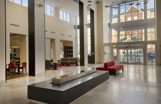 Lobby Embassy Suites by Hilton Newark Airport Embassy Suites by Hilton Newark Airport