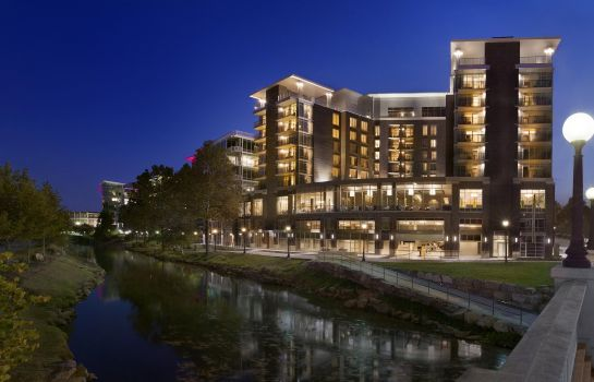 Exterior view Embassy Suites by Hilton Greenville Downtown Riverplace