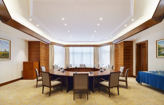 Conference room Four Points by Sheraton Heyuan Resort