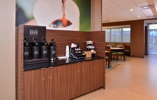Bar del hotel Fairfield Inn & Suites Farmington