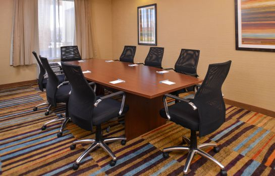 Sala de reuniones Fairfield Inn & Suites Farmington